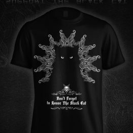 tee-shirt Support The BLACK CAT / 2020